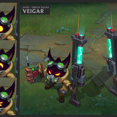Omega Squad Veigar Concept (by Riot Artist <a href=