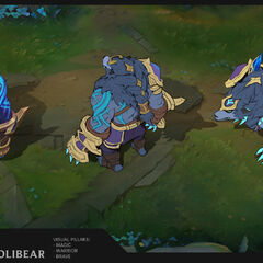 Thunderlord Volibear Update Concept 2 (by Riot Artist <a href=