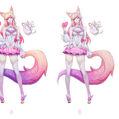Star Guardian Ahri Concept 3 (by Riot Artist <a href=