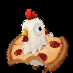Totem Kurczaka w Pizzy