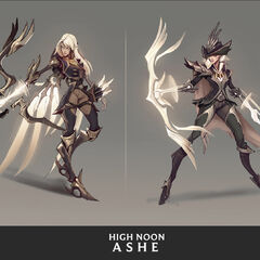 High Noon Ashe Concept 4 (by Riot Artist <a href=