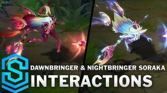Dawnbringer & Nightbringer Soraka Special Interactions