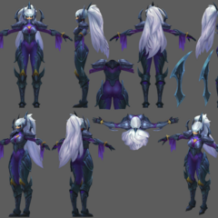 Nightblade Irelia Update Model 2