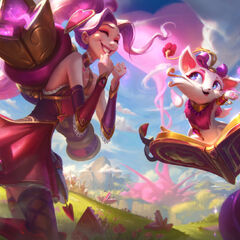 Heartseeker Jinx and Yuumi Splash Concept 3 (by Riot Artist <a href=