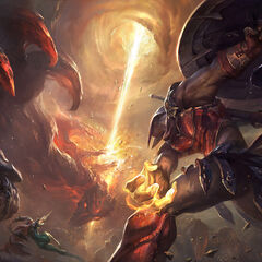 Champions in battle 7 (by Riot Artist Suke 'hugehugesword' Su)