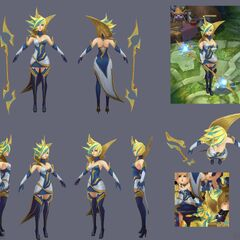 Elementalist Lux Model 14 (by Riot Artist <a href=