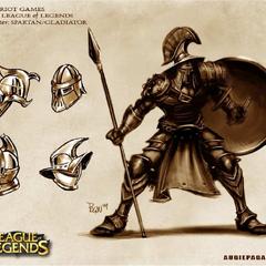 Grafika koncepcyjna Pantheona 2 (w wykonaniu Augie Pagan)