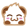 Poro sticker blush
