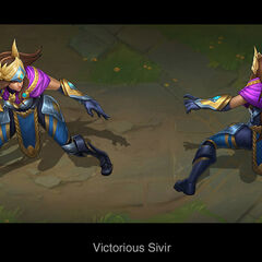 Victorious Sivir Concept (by Riot Artist <a href=