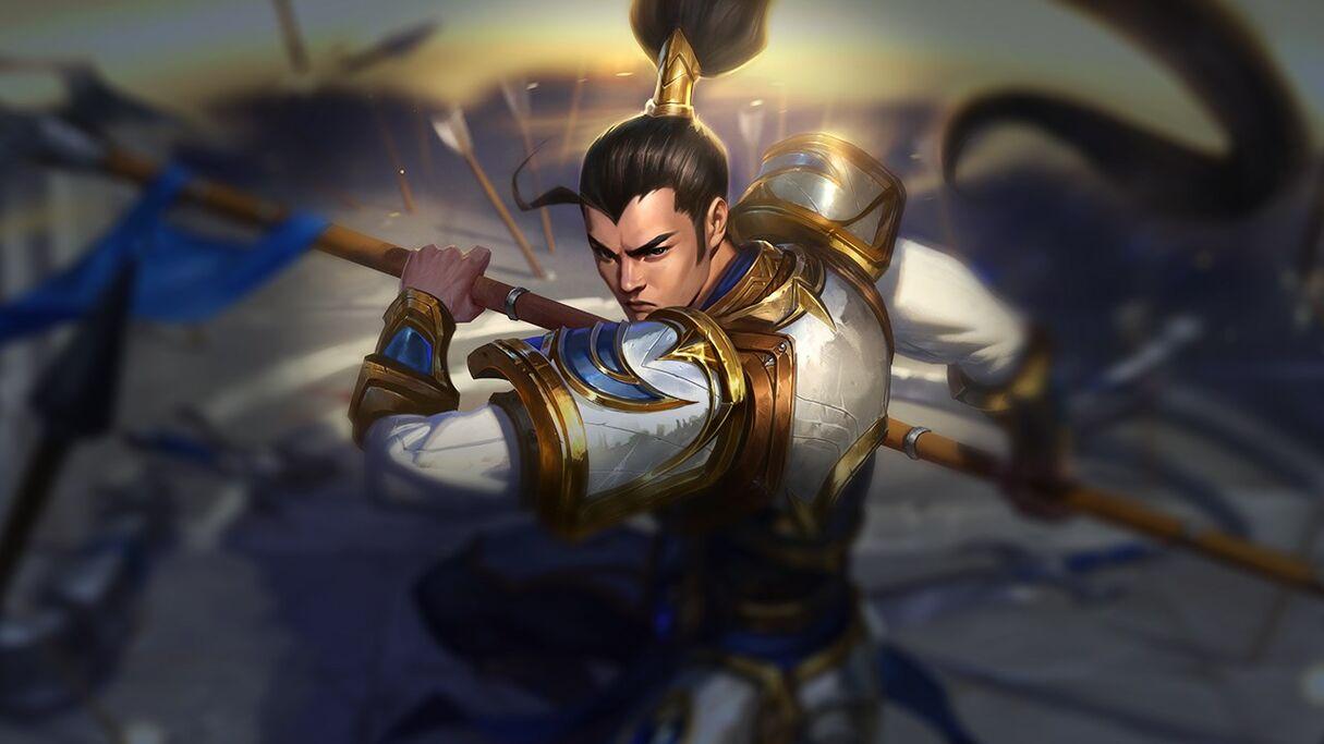 Xin Zhao League Of Legends Wiki Fandom Powered By Wikia