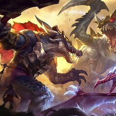 <small>Prehistoric Anivia, Cho'Gath, and Renekton</small>