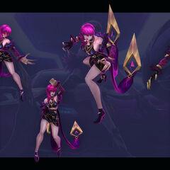 Concepto de Evelynn K/DA 5 (por el artista de Riot, <a rel=