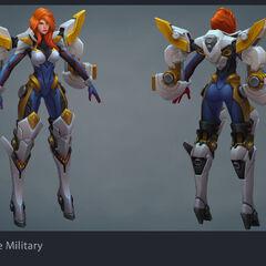 Gun Goddess Miss Fortune Model (by Riot Artist <a rel=