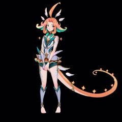 Star Guardian Neeko Concept (by Riot Artist <a href=
