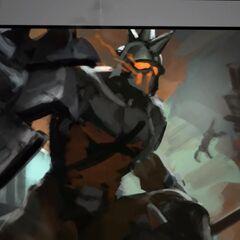 Ruthless Pantheon Update Splash Concept 1 (by Riot Artist <a href=