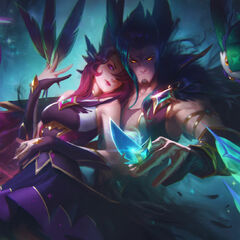 Star Guardian Rakan and Xayah Splash Concept 3 (by Riot Artist <a href=