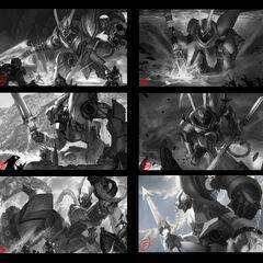 Lancer Stratus Wukong Splash Concept (by Riot Artist <a href=