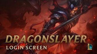 Dragonslayer Xin Zhao - Login Screen
