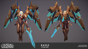 Kayle Update Ätherflügel- Model 03