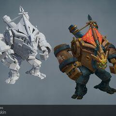 Ironside Malphite Model (by Riot Artists <a href=