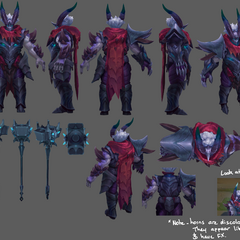 Dragon Knight Mordekaiser Update Model