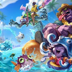 2015 Pool Party Skins Splash Concept (by Riot Artist <a href=