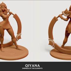 Qiyana Model 1 (by Riot Artist <a href=