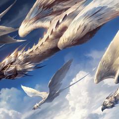 A flock of Silverwings