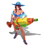 Caitlyn Poolparty-Caitlyn (Aquamarin) M