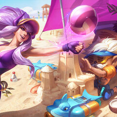 Pool Party Heimerdinger, Jarvan IV and Syndra