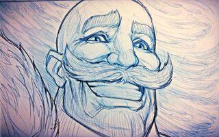 Ironstylus Braum Zeichnung