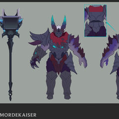 Dragon Knight Mordekaiser Update Concept 2 (by Riot Artist <a href=