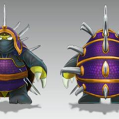 Ninja Rammus Concept (by Riot Artist <a href=