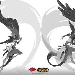 Rakan Concept 6 (by Riot Artist <a href=