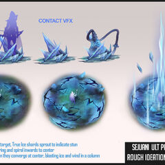 Sejuani Update Ability Concept 1 (by Riot Artist <a href=
