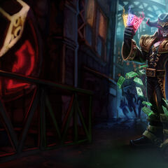Twisted Fate Splash Concept (by Riot Artist <a href=