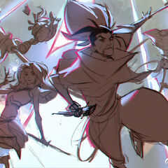 Wild Rift Champion Promo Concept 1 (by Riot Artist <a href=
