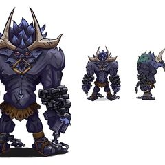 Alistar Concept 4 (by Riot Artist <a rel=