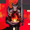 Der Krieger Einzigartiger Ewiger Symbol