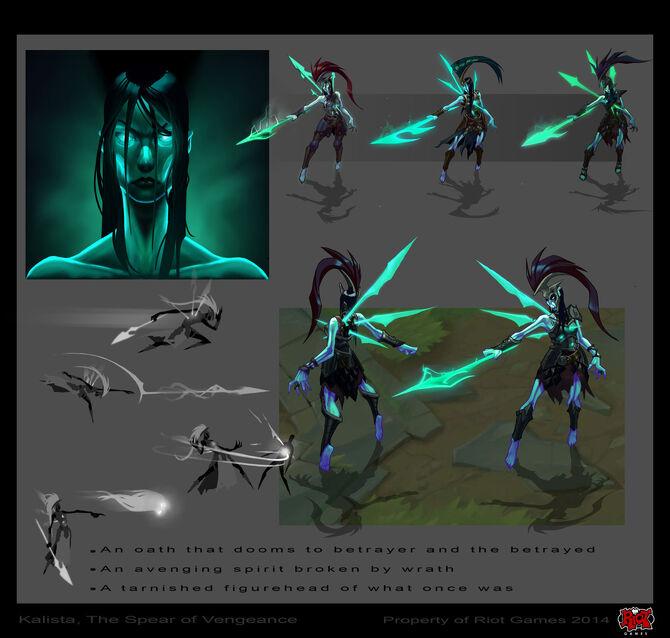 Kalista Champion Concept