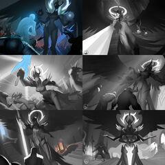Judgment Kayle Update Splash Concept 1 (by Riot Artist <a href=