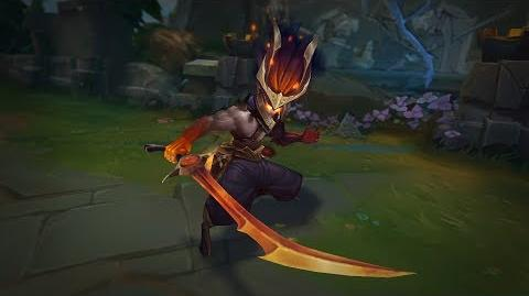 Nightbringer Yasuo VS. Skin Preview - League of Legends