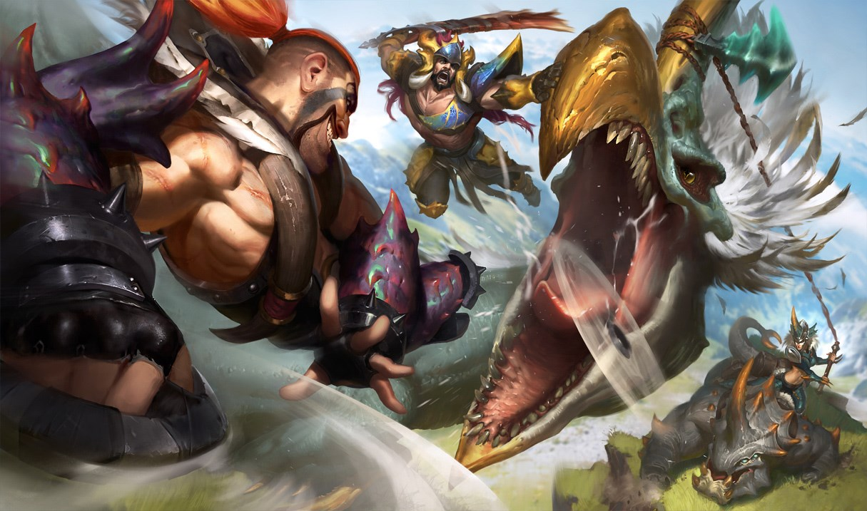 Prehistoric Hunters League Of Legends Wiki Fandom Powered By Wikia