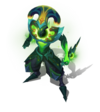 Shaco Sternenvernichter-Shaco (Smaragd) M