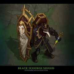 Black Scourge Singed Concept (by Riot Artist <a href=