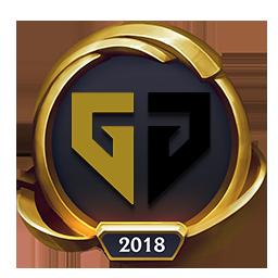 Worlds 2018 Generation Gaming (Gold) Emote