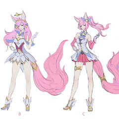 Star Guardian Ahri Concept 2 (by Riot Artist <a href=