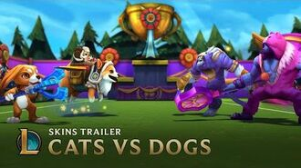 Cats VS Dogs Skins Trailer - League of Legends