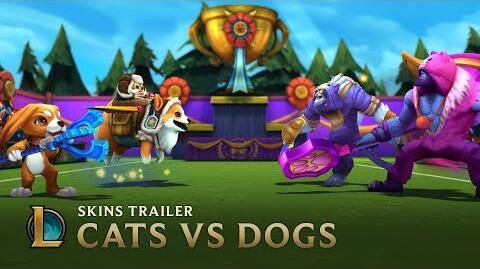 Cats VS Dogs Skins Trailer - League of Legends