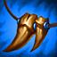Colar de Presas (Azul) (3 Troféus) item